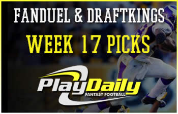 FanDuel and DraftKings Week 17 Picks