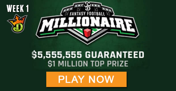DraftKings Fantasy Football Millionaire Contest